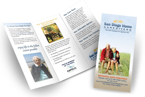 in home care service san diego brochure