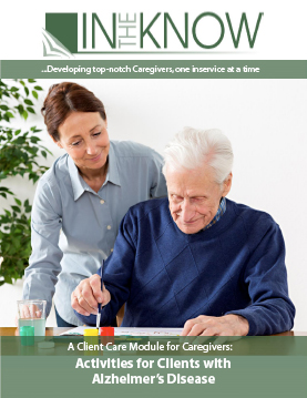 Activities for your San Diego Alzheimer's Clients