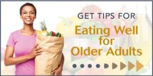 Tips for eating well for older adults