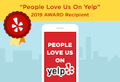We have 15 5-star reviews on Yelp