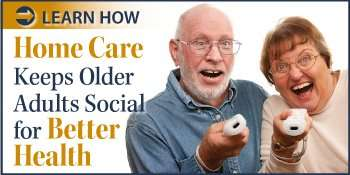 Seniors Staying Social: How Home Care Can Help Health Benefits of Staying Social - Learn More