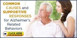Common Causes and Supportive Responses for Alzheimer's-Related Behaviors